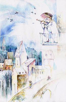"""Трушникова Марина  """"Мелодия утреннего города"""", 2004 г."""