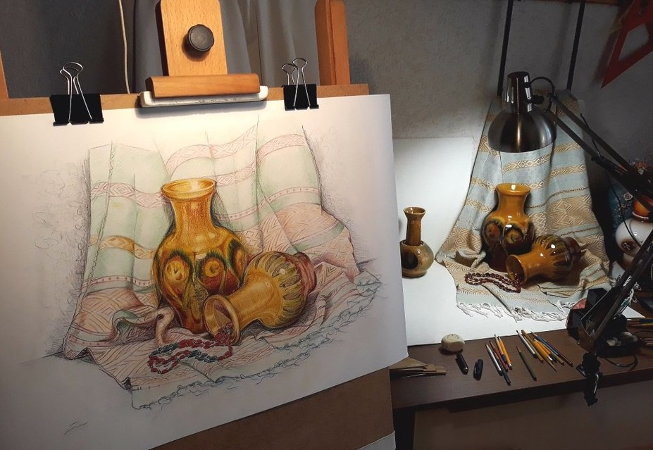 Класс натурного рисования — набор!